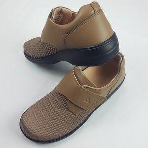 New Propet  7.5 M(B) Ortho WPRX25 Work Shoes Tan